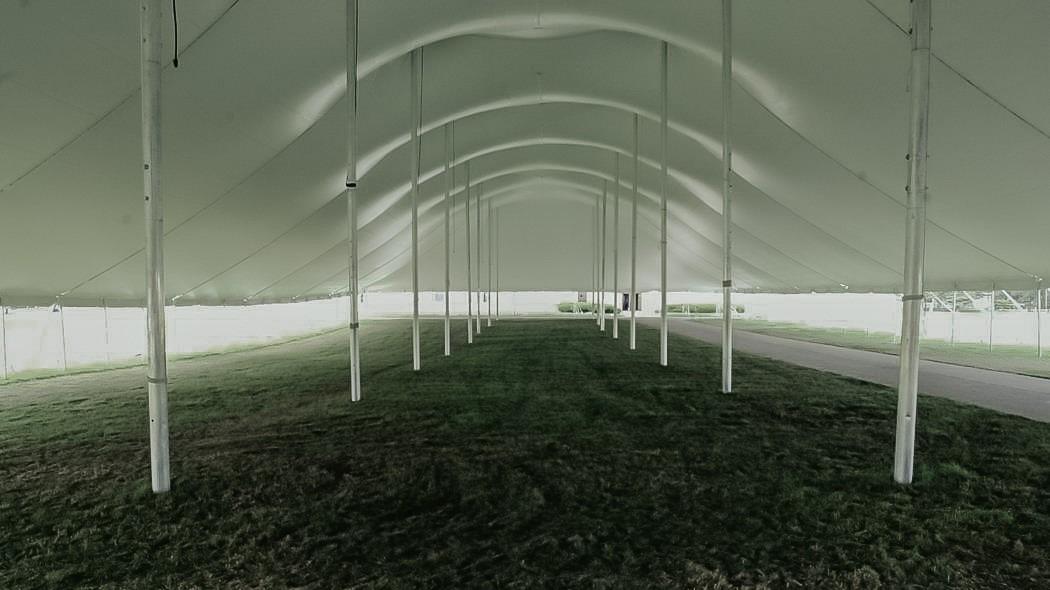 100x225 Pole Tent